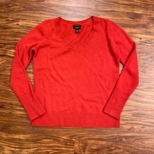 Red Cashmere Sweater ❤️ M